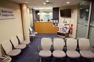 North Coast Surgical Suite Reception